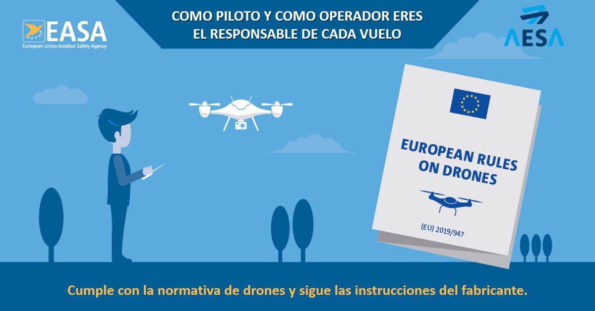 Seminario sobre el cambio de normativa europea de UAS (drones)